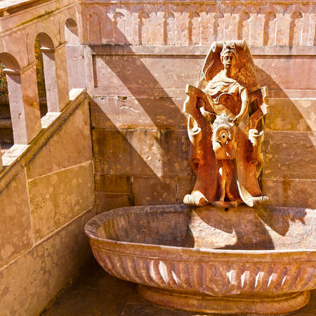 sintra: Drinking Fountain in Portugal City of Sintra Editorial