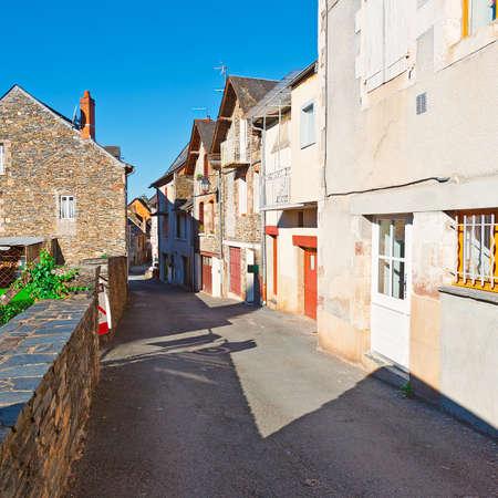 deserted: Deserted Street of the French City