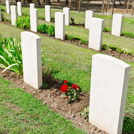 canadian military: Canadian Military Cemetery in Sicily, Italy