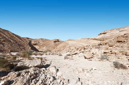 terrain: Rocky Hills of the Negev Desert in Israel
