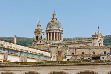 ragusa: View to Cathedral in the City of Ragusa in Sicily
