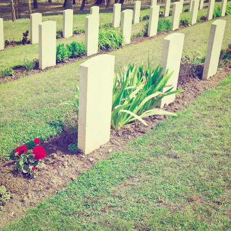national military cemetery: Canadian Military Cemetery in Sicily, Italy, Instagram Effect