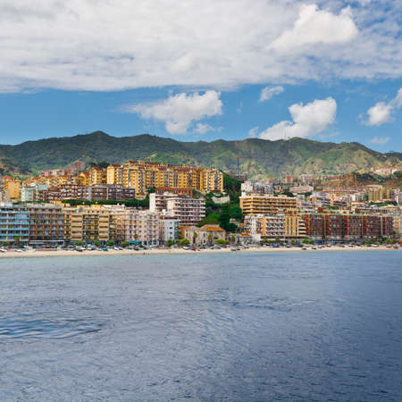 View of the City of Messina from the Strait