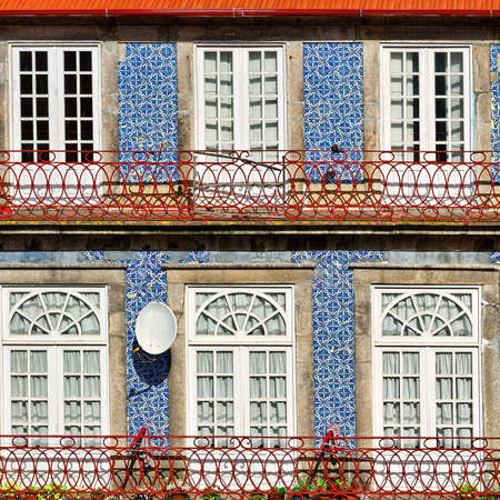 Windows Decorated with Portuguese Ceramic Tiles