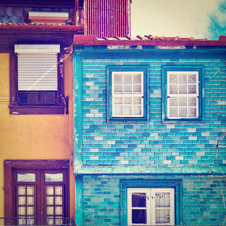 resplendence: Windows Decorated with Portuguese Ceramic Tiles, Instagram Effect