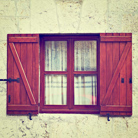 Closed Window in Spanish Town