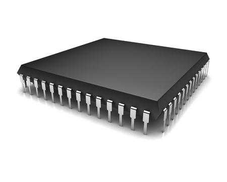 microchip: Computer chip