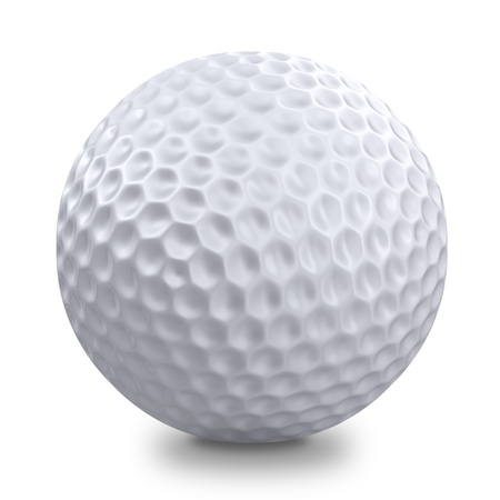 golf ball: Golf ball  Stock Photo
