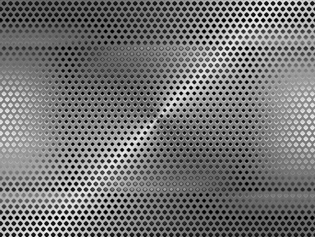 Metal grid background  Stock Photo - 9919602
