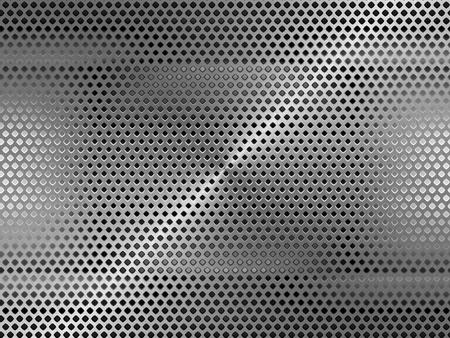 Metal grid background  photo