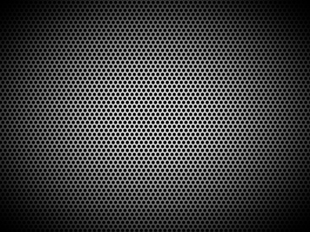 woofer: grill texture  Stock Photo