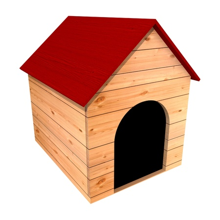 casa de perro: Criadero de perros  Foto de archivo