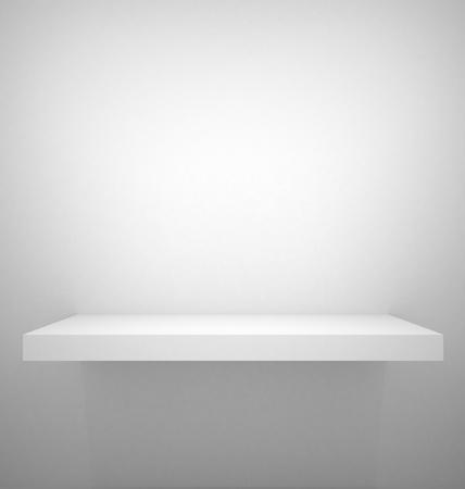 Empty shelf  photo
