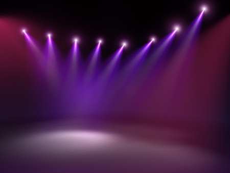 etapas de vida: Luz de concierto