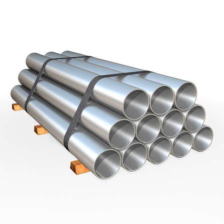 Metal tube  Stock Photo - 9919364