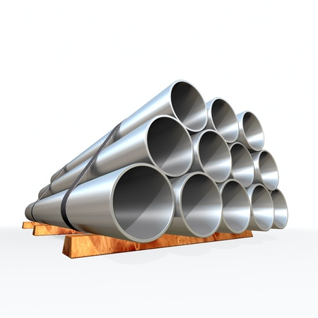 Metal tube Stock Photo - 9919347
