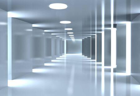 corridor: Modern corridor