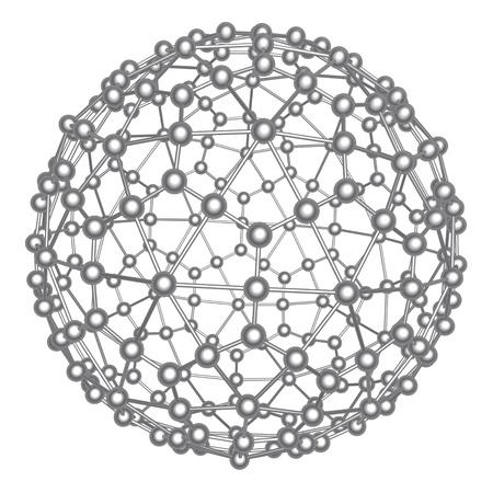 nano: Abstract atom ball