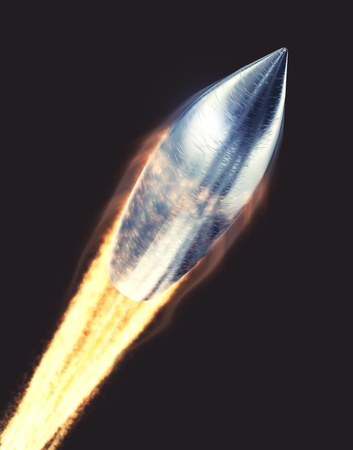quickly: Flying bullet