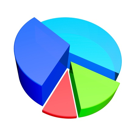 Pie diagram  Stock Photo - 10014703