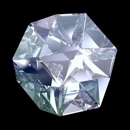 blue crystal Stock Photo - 10014631