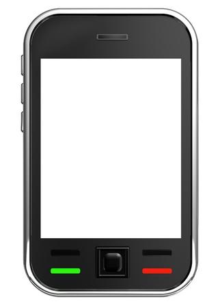 3d modern cell phone Stock Photo - 9962894