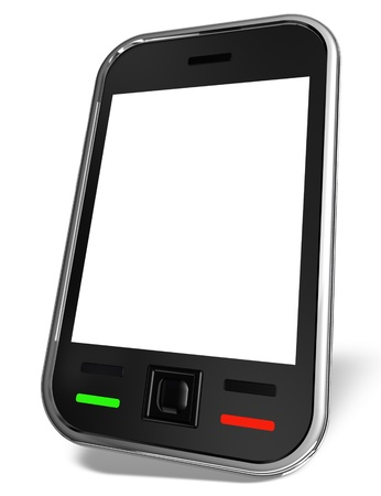 3d modern cell phone Stock Photo - 9962901