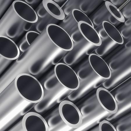 Metal tube photo