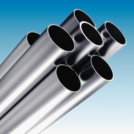 cilindro: Tubo de metal