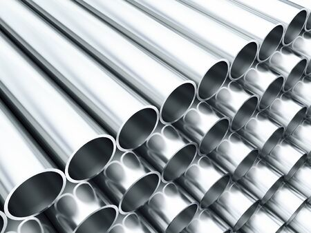 stainless steel: Metal tube