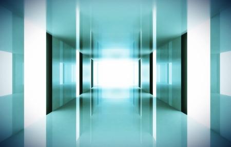 hallway: Corridor
