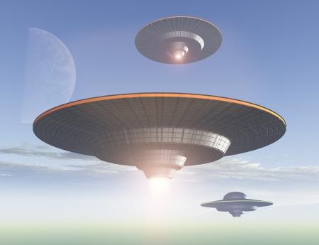 platillo volador: Invasi�n OVNI
