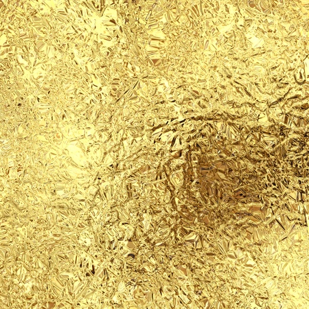 metal sheet: gold foil