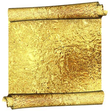 foil roll: gold foil