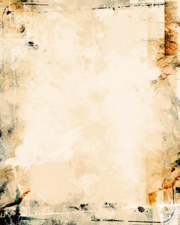 gebrannt: schmutziges Papier Textur Lizenzfreie Bilder