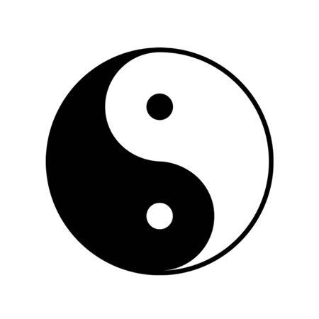 taoistic symbol of harmony and balance  photo