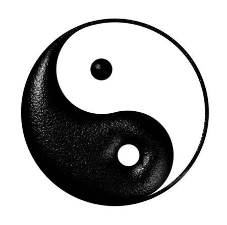 metaphysic: harmony and balance sign  Stock Photo