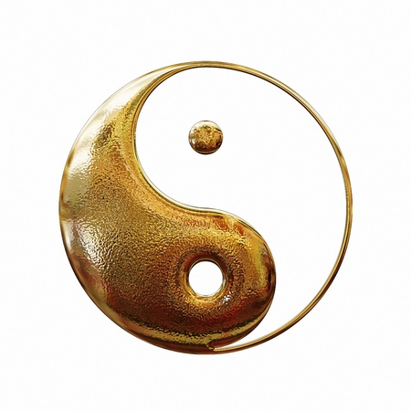 yin yang symbol: taoistic symbol of harmony and balance