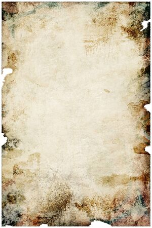 edges: old paper texture