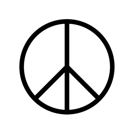 pacifist: peace sign  Stock Photo