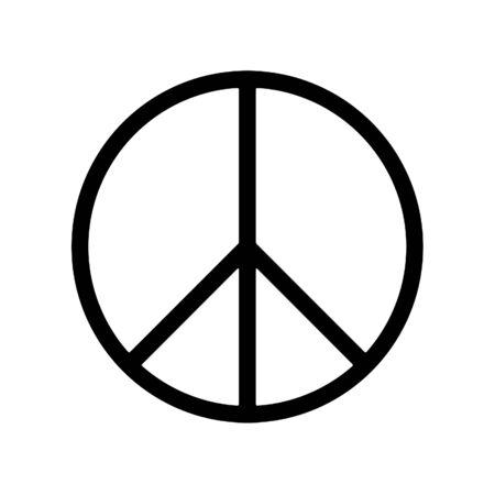 antiwar: peace sign  Stock Photo