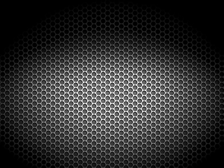 carbon steel: perforated metal