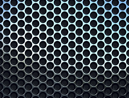 perforated metal plate Stock Photo - 9943943