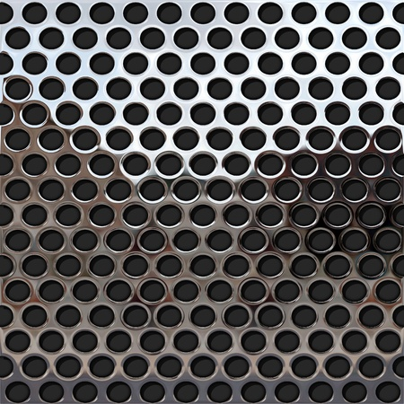 perforated metal plate photo