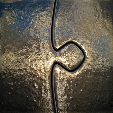 metal detail photo