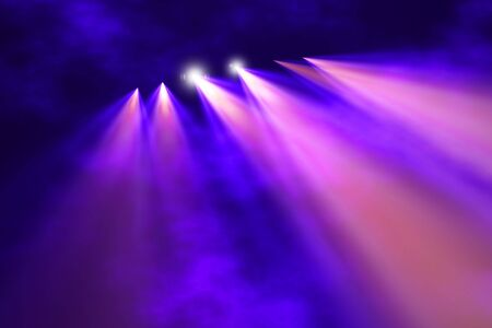 light show: Stage illumination background