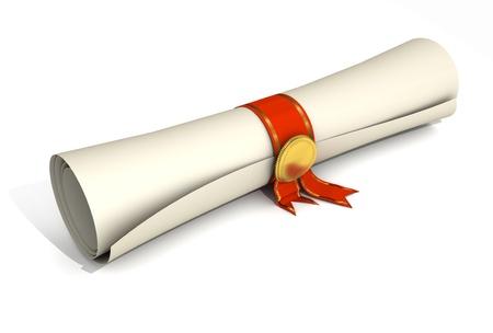 diplomas: Certificate Scroll