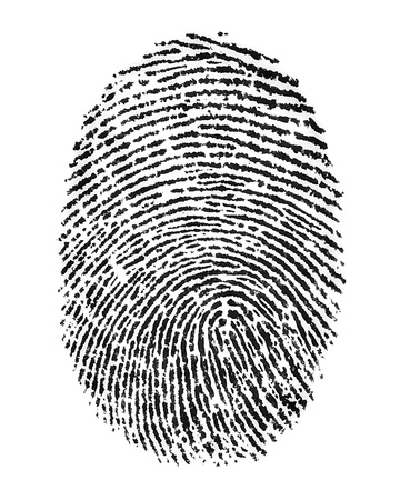 thumbprint: finger print  Stock Photo