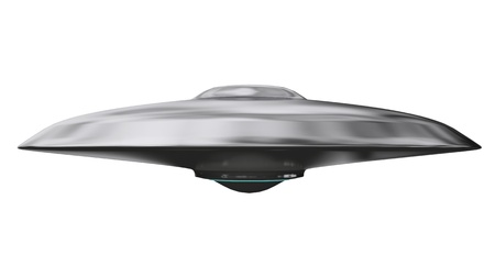 spaceships: UFO Stock Photo