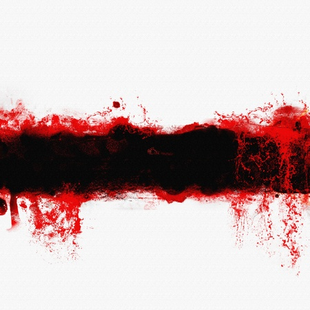 blob: abstract blood banner